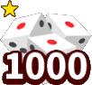 1000面ダイス