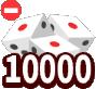 10000面ダイス